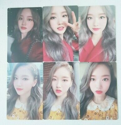"""MONTHLY GIRL LOONA GOWON 6 Photocard SET - Official MD Showcase of LOONA """"#"""""""
