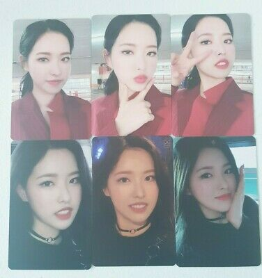 "MONTHLY GIRL LOONA OliviaHye 6 Photocard SET - Official MD Showcase of LOONA ""#"""