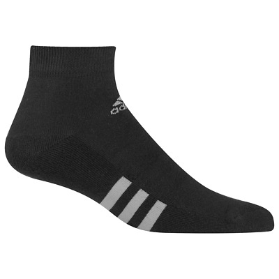 Adidas 2019 3-Pack Tobillo Hombre Sports Calcetines (Negro)