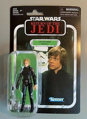 New Star Wars Vintage Collection Return of the Jedi Luke Skywalker Endor 2018