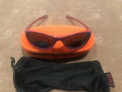 Bolle Girls Pink Sunglasses Brand New In Case