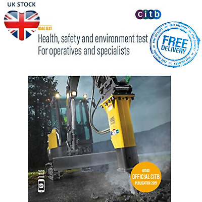 CSCS Card Test Book Health Safety And Environment Operatives Specialistics 2019