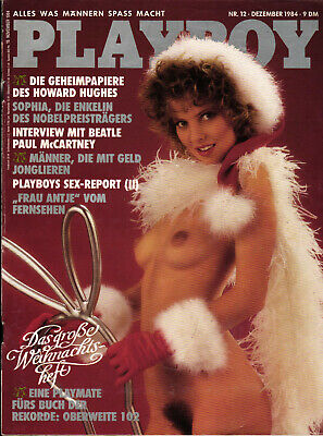 PLAYBOY D 12/1984 Dezember Paul McCartney+Die Beatles + Frau Antje Ellen Soeters