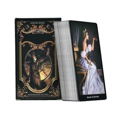 Tarot Deck Playing 78 Cards the Steampunk Board Game for Family Gathering Party