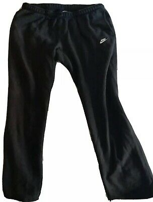Nike Mens Sweatpants Athletic Cotton Pants Black Size 2XL