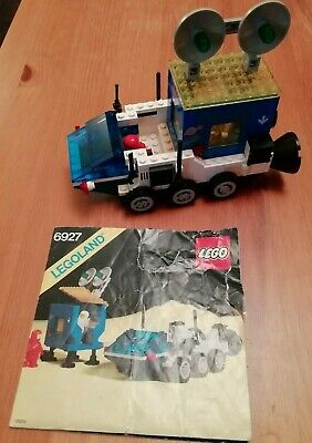 Classic Space Lego 6927 All Terrain Vehicle 100% Complete with instructions