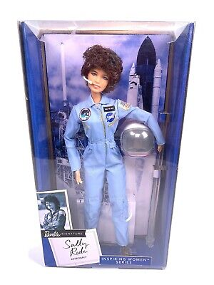 Mattel Barbie Inspiring Women American Astronaut Sally Ride Collector Doll - New