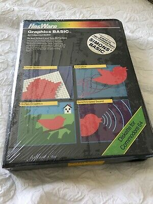 Hesware Commodore 64 Vintage Software Graphics Basic Toys R Us Sealed Package