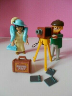 Playmobil Victorian Mansion Photographer and model