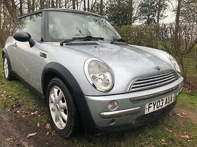 2003 Mini Cooper 1.6 87K Miles **99P Start No Reserve**