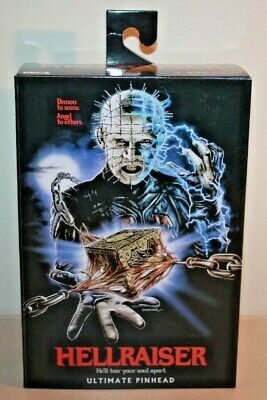 "NECA 7"" Action Figure - HELLRAISER ULTIMATE PINHEAD New In Box IN HAND"