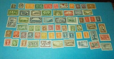 Canada Stamps Huge Mint Hinged Collection Older Betters High C.V. Over $1000