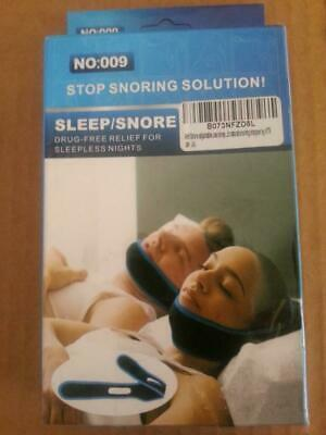 Anti Snoring Chin Strap, Snore Stopper, Adjustable Sleep Snore Jaw Strap