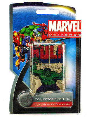 iPod Touch 4th Gen Classic Hulk Protective Clip Case Marvel Comics New PDP