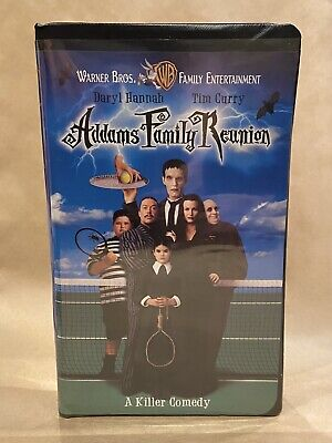 Addams Family Reunion (VHS, 1998, Clam shell)