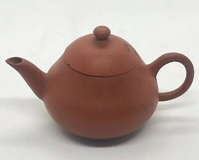 Estate Chinese Miniature Yixing Clay Teapot * Seal Signed