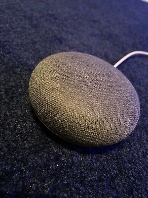 Google Home Mini Smart Assistant - Charcoal - USED