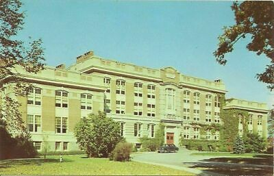 New Paltz NY Main Building State Teachers College Ulster Postcard #y7029