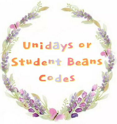 Student Beans Or u.n.i.d.a.y.s. Discount Code