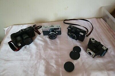 JOB LOT 4 MIX Vintage Film Camera. 35mm