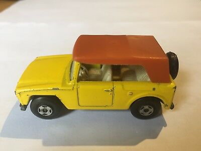 Matchbox : Field Car , Superfast Serie Nr. 18 ,1969 , Lesney , England