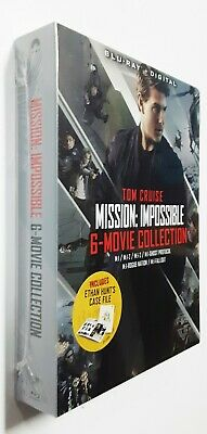 Mission: Impossible 6-Movie Collection Blu-ray Tom Cruise BRAND NEW