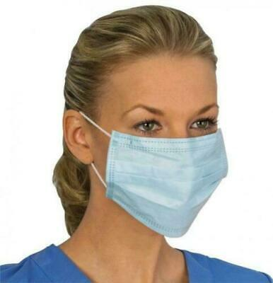 25,000 Pcs Disposable Face Masks Surgical Medical Dental Industrial 3 Ply German