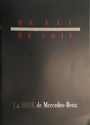 Brochure / Catalogue / Leaflet  Mercedes 500E (W124)  2003 Francais -French.