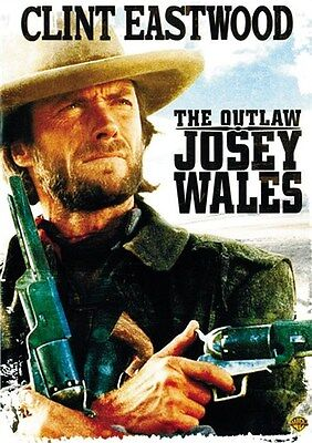 The Outlaw Josey Wales (1976) Clint Eastwood cult western movie poster print