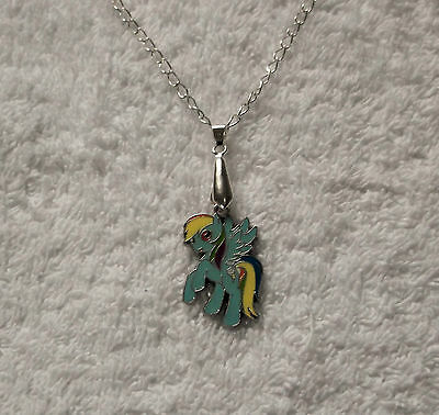 MY LITTLE PONY Inspired NECKLACE Party Bag Gift Filler RAINBOW DASH