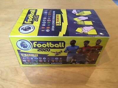 100 pack Box - Panini Football 2020 Premier League Stickers - BRAND NEW