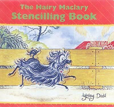The Hairy Maclary Stencilling Book, Dodd, Lynley, Used; Good Book