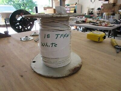 18 ga TFFN WHITE REEL OF 360 FT NEW