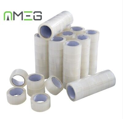 Clear Tape Strong Parcel Tape Packing sellotape Packaging Sealing 48mm x 45m