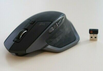 Logitech MX Master 2s Graphite Wireless Computer Laser Mouse Bluetooth
