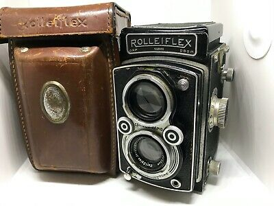 Rolleiflex Automat Medium Format TLR camera. Zeiss Tessar + original case
