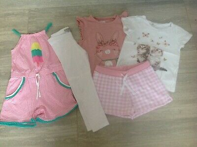 Girls Summer Clothes Bundle 5-6 Years - Marks and Spencer, Mothercare, H&M