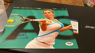 Simona Halep---Tennis Player---10X8---Rare--Autographed Photo-With Coa
