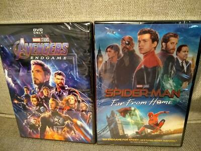 Spider-Man: Far From Home + Avengers: Endgame  - BRAND NEW & SEALED