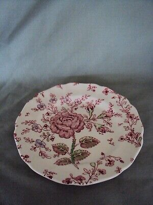 2003 discontinued 'ROSE CHINTZ' BREAD & BUTTER SIDE PLATE JOHNSON BROS ENGLAND
