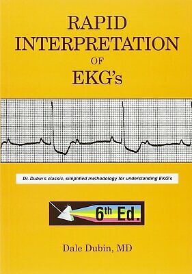 [P.DF] Rapid Interpretation of EKG's 6th edition by Dale Dubin