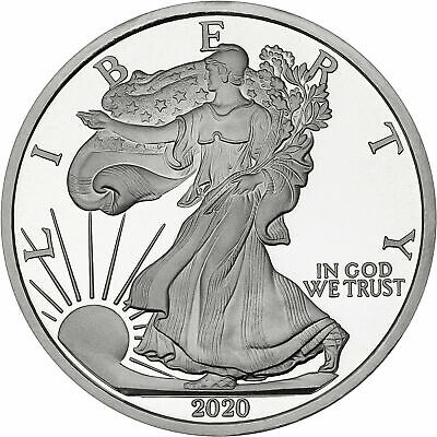 SilverTowne Minted 2020 Silver American Eagle 5oz .999 Silver Round