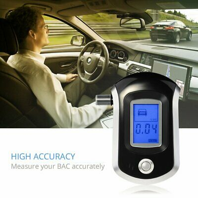 VicTsing LCD Digital Police Driver Alcohol Tester Breathalyzer Analyzer Detector