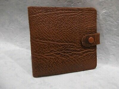 Mens Leather Wallet  Colour: Brown
