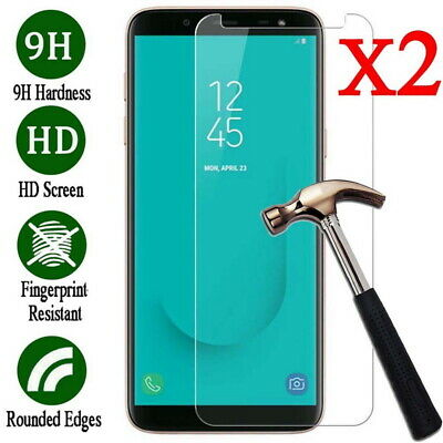 2 Pcs For Samsung Galaxy A7 2018 A750 A90 A10 Tempered Glass Screen Protector