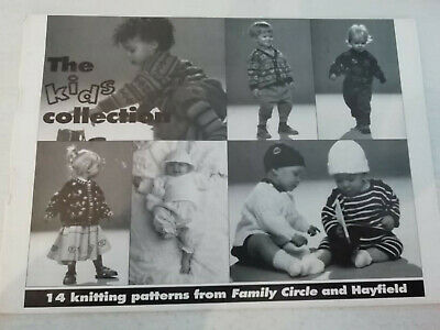 Vintage THE KIDS COLLECTION knitting pattern booklet