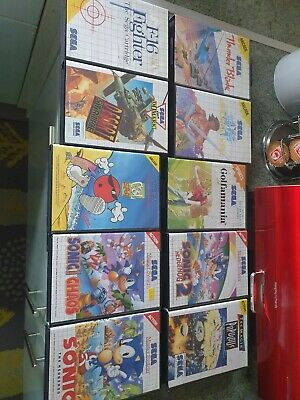 Sega master system games bundle
