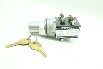 General Electric Ge 169C9490P033 2 Pos Selector Switch
