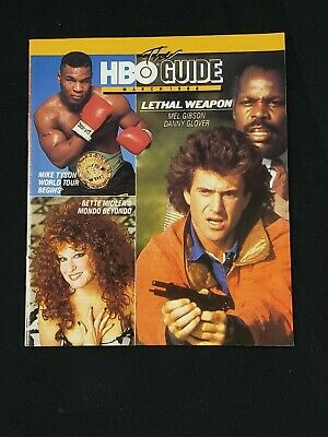 1988 March *Lethal Weapon-Gibson/Glover* Hbo Home Box Office The Guide (As)