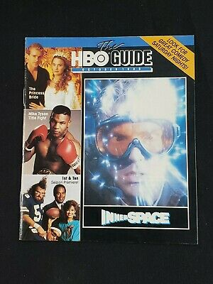1988 October *Inner Space-Quaid/Short* Hbo Home Box Office The Guide (As)